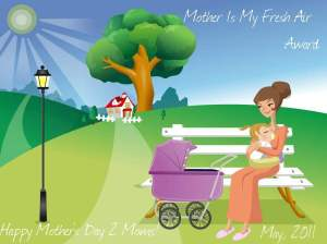 Mom, U R My Fresh Air