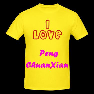 a peng love shirt