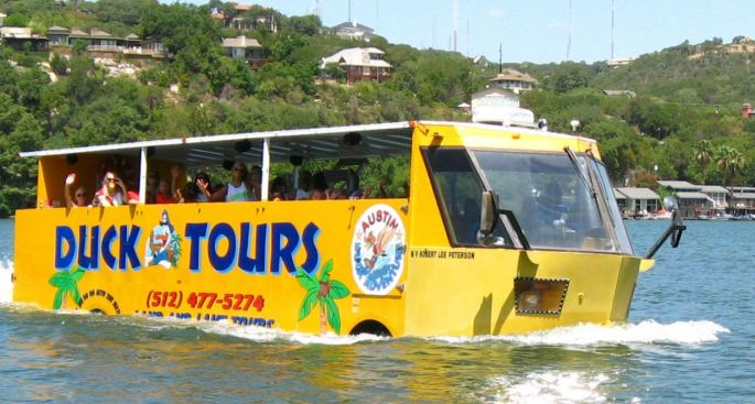 duck tours in austin texas