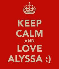 love alyssa
