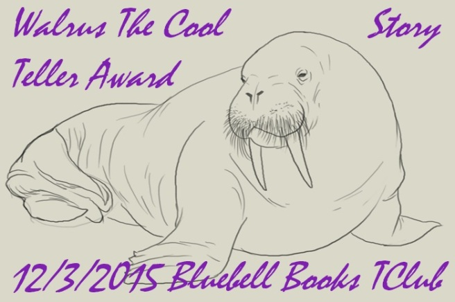 walrus the cool story teller award